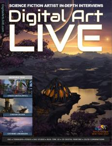 Cynthia Decker Featured In Digital Art Live Magazine
